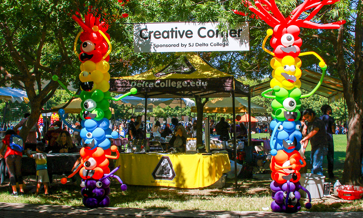 Creative Corner is full of activities for the kids