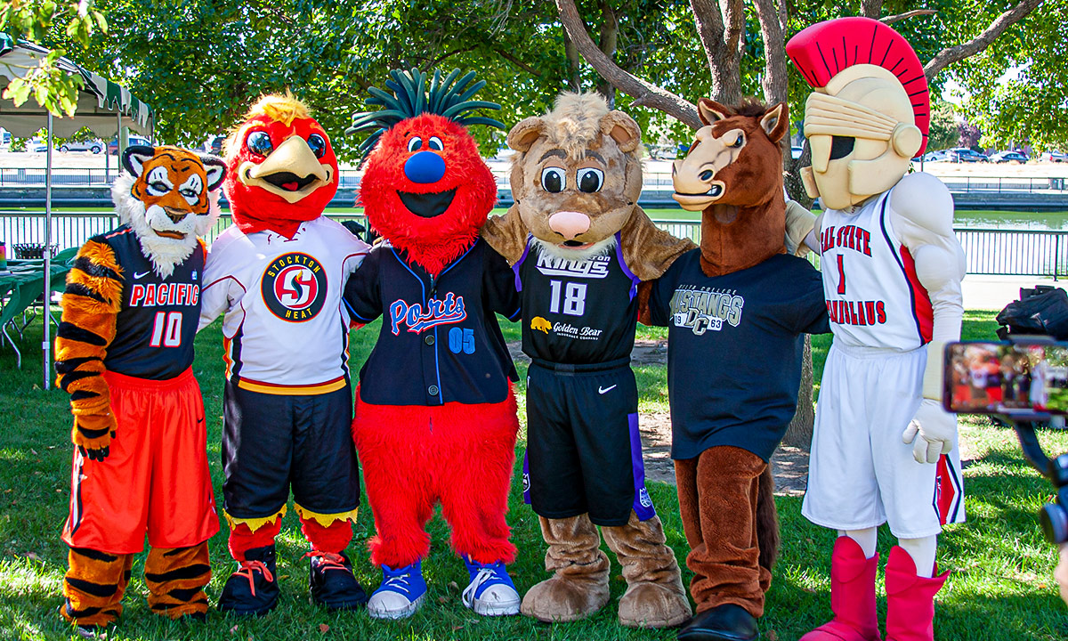 Local Stockton mascots