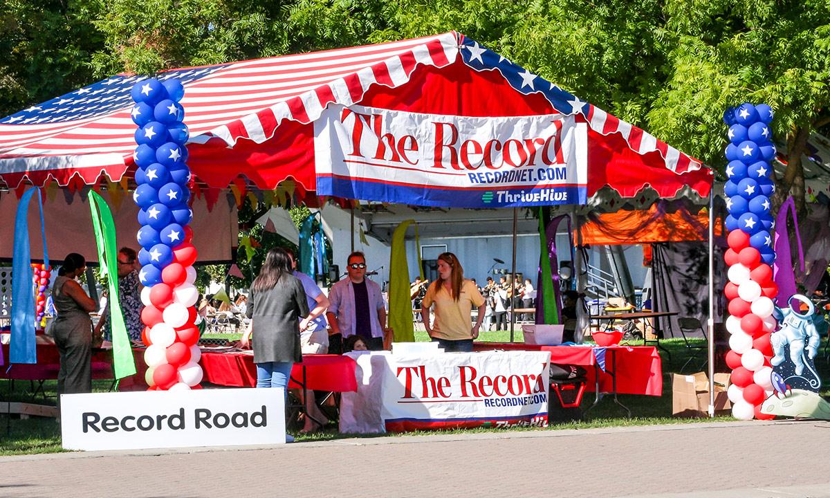Record Road tent